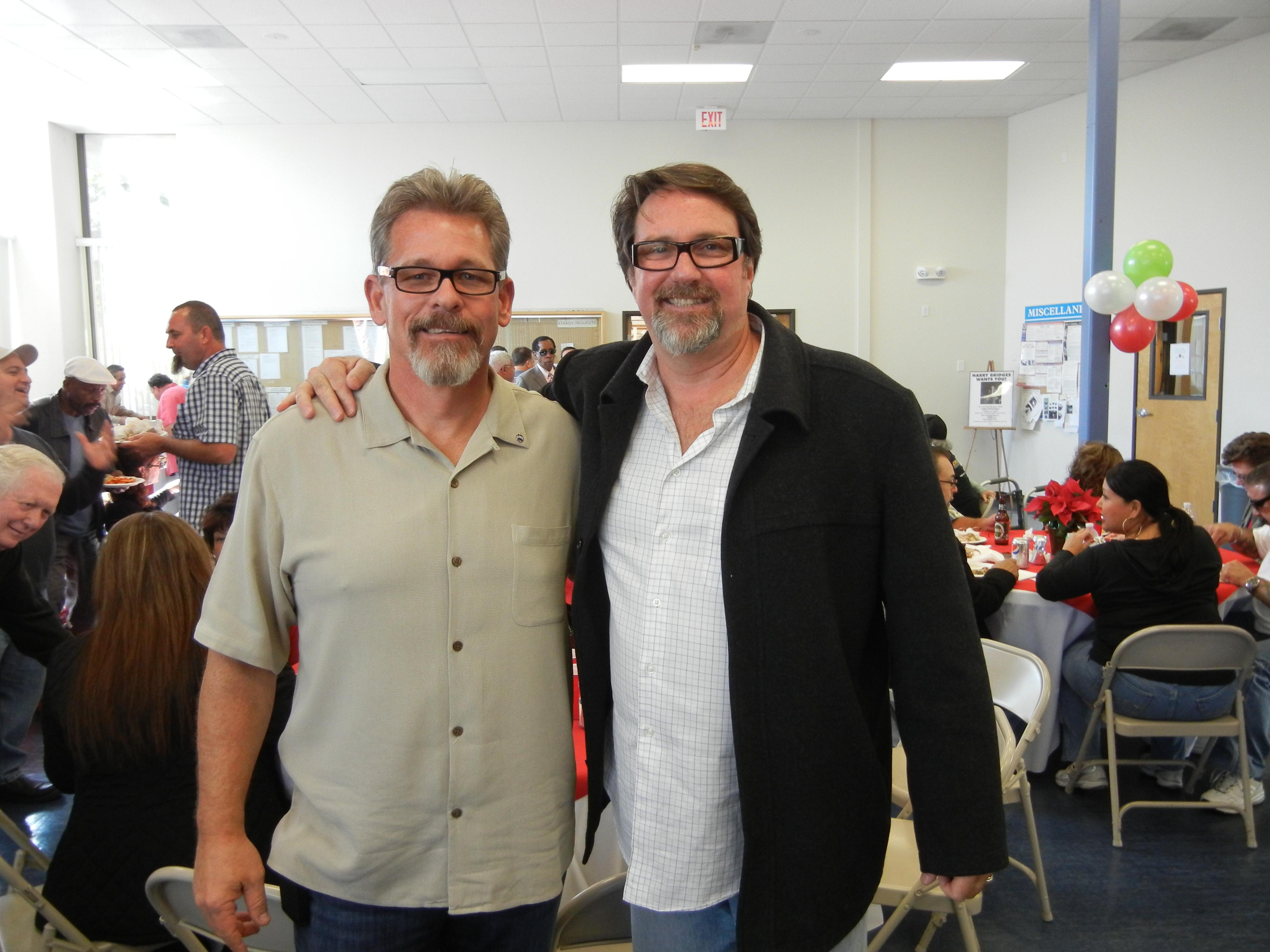 Mike Podue and Peter Peyton