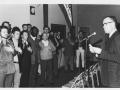 """""""A"""" men being sworn in. 1970"""